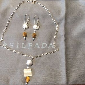 Silpada Earrings and necklace